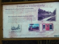 The Old Palatka Waterworks is on site.