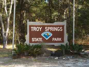 Troy Springs Entrance