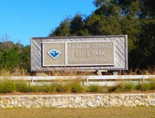 Rainbow Springs Entrance