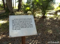 Signs tell story of the battle along the trail