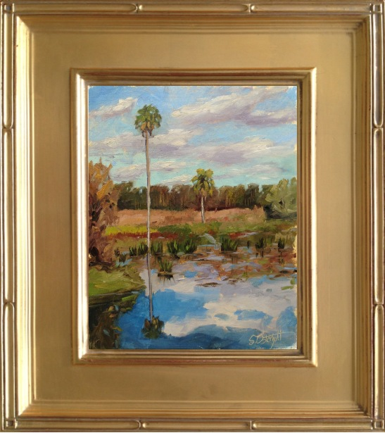 """Colt Creek"" 8x10"" oil on linen panel - plein air"