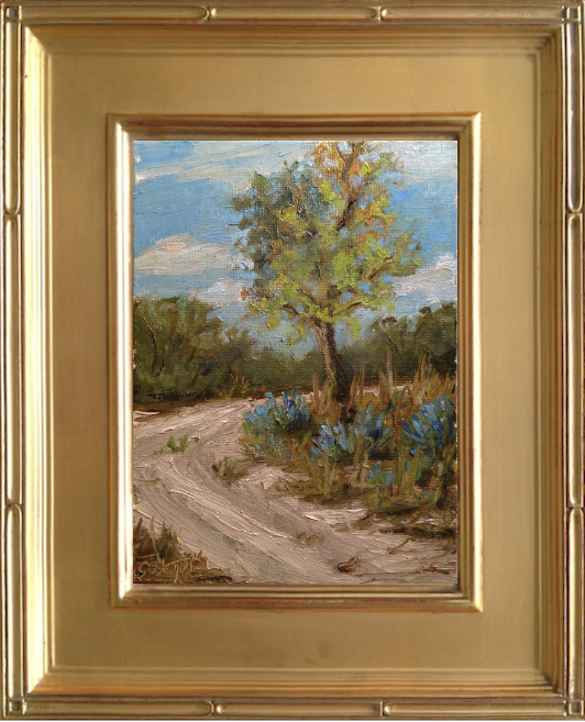 Sandy Trails - 6x8 oil on canvas panel.