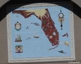 Vintage Florida sign at entrance