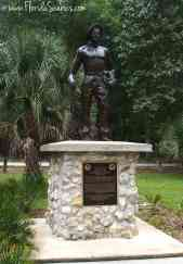 There is a similar statue at Highlands Hammock State Park