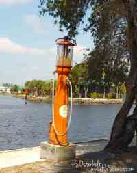 Gas Pump at the water