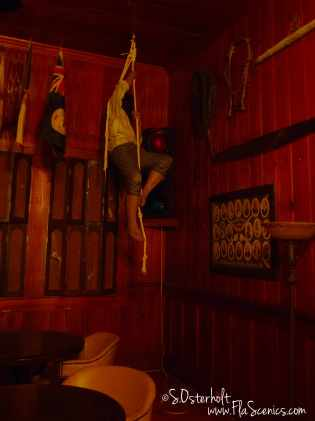 Drunken Pirate in the corner