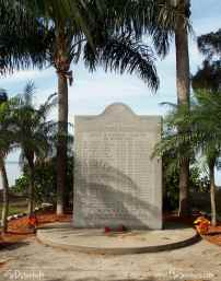 Monument to USCG ship