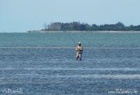 Rick fishing the bay