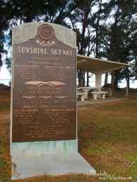 Skyway Bridge dedication plaque