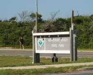 Henderson Beach Entrance Sign