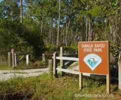 Tarklin Bayou Entrance Sign