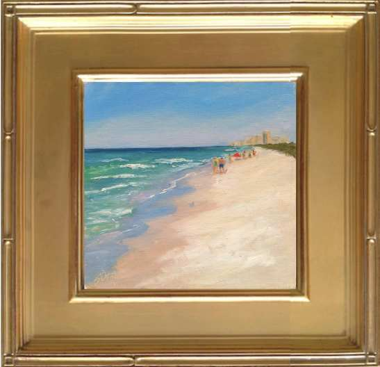 Henderson Beach - 6x6