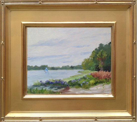 Smooth Sailing - Lake Wauberg at Paynes Prairie Preserve State Park 8x10