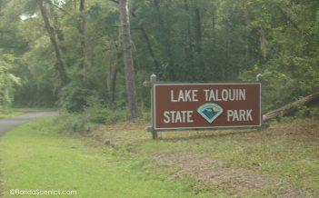 Entrance Sign Lake Talquin