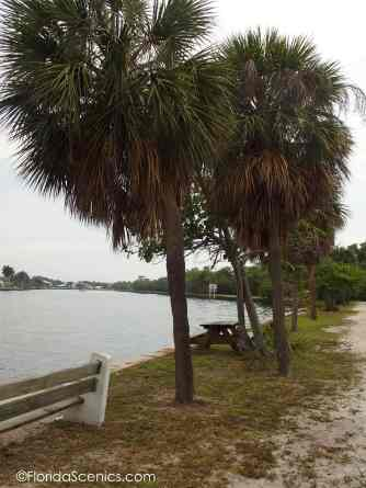 View down intracoastal