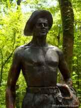 CCC Statue -