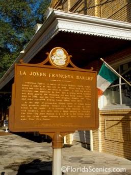 Bakery historic marker