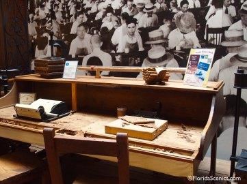 Cigar Making table