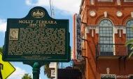 Molly Ferrara historic marker