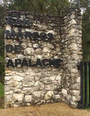 Stone entrance sign