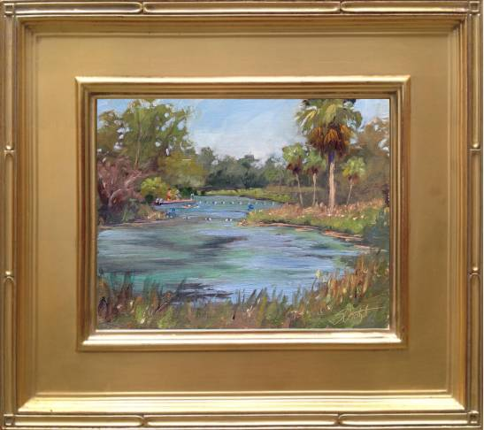 Weeki Wachee Painting - 8x10