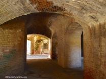 Arched Brick doorways