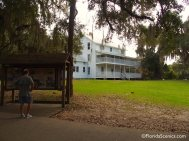 Historic Thursby House overlooking the St. Johns River and the old Steamboat landing