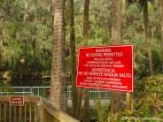 Big Red danger sign!