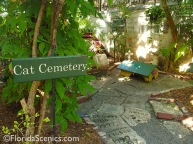 Cat Cemetery at Hemmingway's