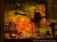 mural inside bar