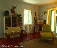 Hemingway's writing studio - a real man cave!
