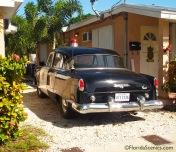 Old Dodge Police Car