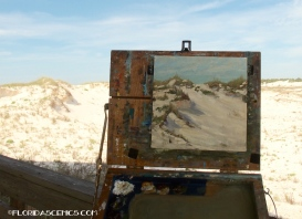 My painting of the Dunes