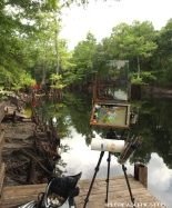Painting on the Withlacoochee