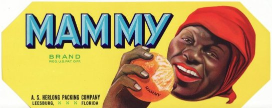 Mammy Citrus Label