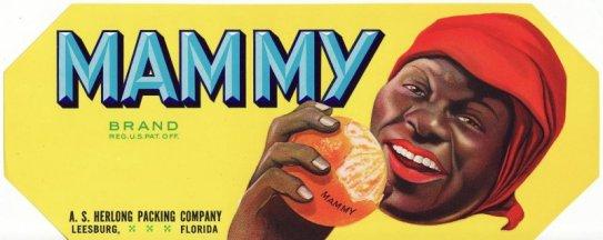 Mammy Citrus Label