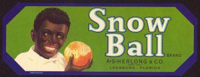 Snow Baby Label